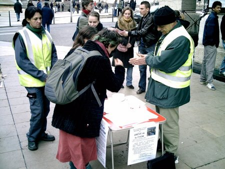 Distribution de tracts
